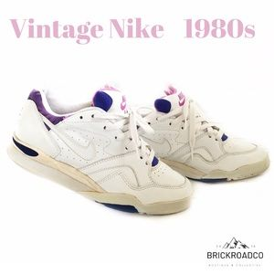Vintage 1980s deadstock Nike Air White 7.5 Women's